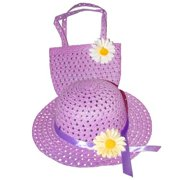 Tea Party Hat & Purse Set (More Colors...) Select Color: purple