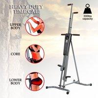 Vertical Climber Machine Fitness Climbing Equipment for Home Gym