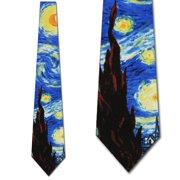 The Starry Night Necktie Mens Tie