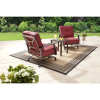 Better Homes & Gardens Carter Hills 3 Piece Outdoor Chat Set
