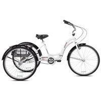 "Kent 26"" Adult, Alameda Folding Trike, White"