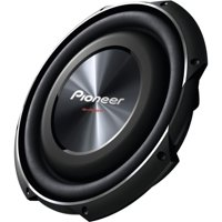 """Pioneer TS-SW3002S4 12"""" 1,500W Shallow Subwoofer with Single 4"""" Voice Coil"""