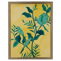 """Day Birds Champagne 33.37""""x43.37"""" Frame by Drew Barrymore Flower Home"""