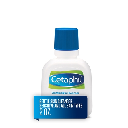 Cetaphil Gentle Skin Cleanser, Face Wash For Sensitive and All Skin Types, 2 Oz (Icc Face)