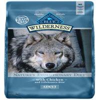 Blue Buffalo Wilderness Grain-Free Chicken Recipe Dry Dog Food, 11 Lb