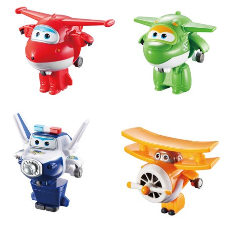Super Wings Mini Transform-A-Bot, 4 Pack A for $<!---->
