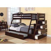 Acme Furniture Jason Twin Over Full Bunk Bed - Espresso