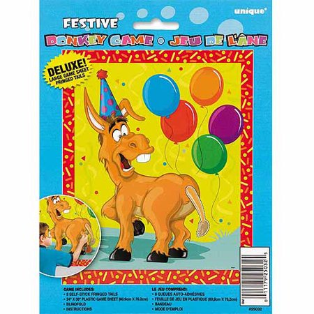 Pin the Tail on the Donkey Party Game, 8 - Halloween Pin The Tail Games