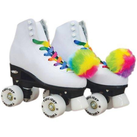 Epic Allure Light-Up Quad Roller Skates - Light Up Roller Skates