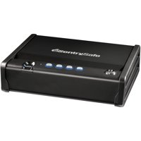 SentrySafe QAP1BE Quick Access Pistol Safe with Biometric Lock, .08 cu ft