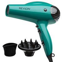Revlon Essentials Volume Booster RVDR5036 1875W IONIC TECHNOLOGY®, Teal with 2 attachments
