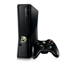 Refurbished Microsoft Xbox 360 System with 4GB Flash Memory Black Console