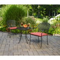 Mainstays Wrought Iron 3-Piece Outdoor Bistro Set