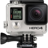 GOPRO HERO 4 BLACK Edition Waterproof 4k 12MP Photos Action Camera - REFURBISHED