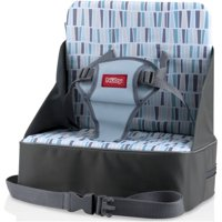 Nuby Fabric Booster Seat, Gray