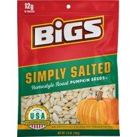 BIGS Simply Salted Homestyle Roast Pumpkin Seeds, 5-oz. Bag