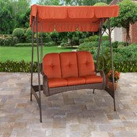 Product Image Better Homes Gardens Azalea Ridge 3 Person Canopy Porch Swing