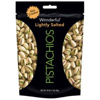 (2 Pack) Wonderful Pistachios, Roasted & Lightly Salted, 16 Oz