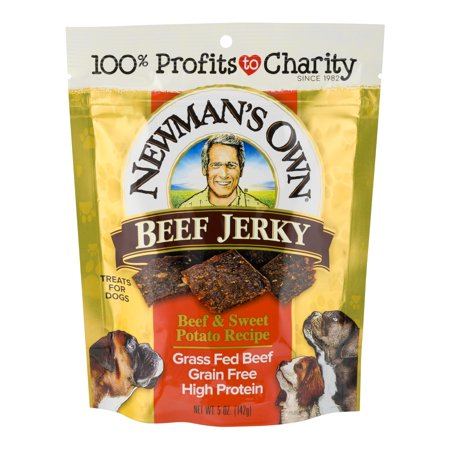 Newman's Own Beef Jerky Beef & Sweet Potato Recipe Dog Treats, 5.0 Oz.](Halloween Sweet Treats Easy)