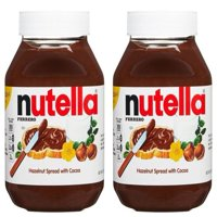 (2 Pack) Nutella Hazelnut Spread, 13 oz