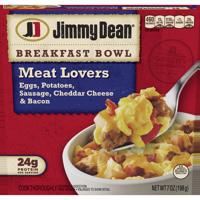Jimmy Dean® Meat Lovers Breakfast Bowl, 7 oz.