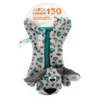 ASPCA Blue Crinkle & Chew Rope Pup Dog Toy