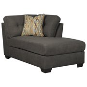 Ashley Furniture Delta City Right Corner Chaise Lounge In Steel