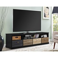 """Ameriwood Home Mercer 65"""" TV Console with Multicolored Drawer Fronts, Multiple Colors"""