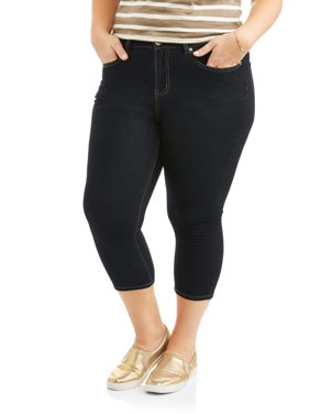 Women's Plus Size Super Stretch Capri