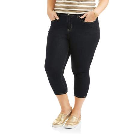 Rock & Stone Women's Plus Size Super Stretch Capri