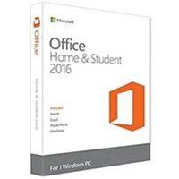 Microsoft Office Home and Student 2016 - Box pack - 1 PC - non-commercial - medialess - Win - English - North America