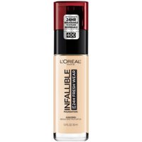 L'Oreal Paris Infallible 24 Hour Fresh Wear Foundation, Lightweight, Pearl