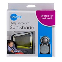 Safe Fit Adjust-To-Fit Sun Shade, 1.0 CT