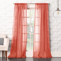 No. 918 Vida Semi-Sheer Rod Pocket Single Curtain Panel
