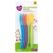 Parent's Choice Soft Tip Feeding Spoons, 6 Pack
