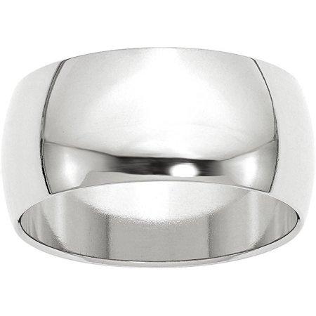 10KW 10mm Half Round Band Size (10kw 5 Stone)