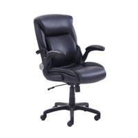 Serta AIR Lumbar Bonded Leather Manager's Office Chair, Multiple Colors