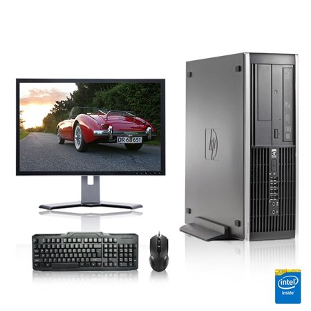 Refurbished - HP DC Desktop Computer 2.7 GHz Pentium D Tower PC, 4GB, 160GB HDD, Windows 7 x64, 17