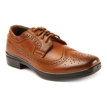 Deer Stags Boys' Ace Dress Wing-Tip Oxford Dress Shoes - Boy Dress Shoes
