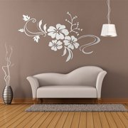 DIY Retro 3D Removable Mirror Flower Art Wall Sticker Acrylic Decal TV Living Room Home Decor. Product Variants Selector. Silver