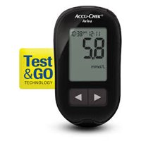 Accu-Chek Aviva Plus Blood Glucose Meter Complete KIT - 1 EA