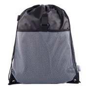 dbe8f2a020 Mato   Hash Drawstring Cinch Bag Backpack With Mesh Pocket Polyester Tote  Sack