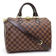 770b7e107922 Louis Vuitton Damier Ebene Canvas Speedy Bandoulière 25 Article  N41368  Made in France