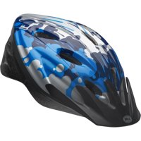 Bell Sports Cicada Sugar Storm Child Bike Helmet, Blue / Gray