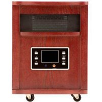 Haier 5200 BTU 6-Element Infrared Space Heater with Cherry Finish