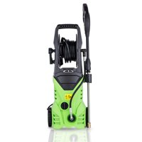 2200 PSI Professional Electric Pressure Washer 1.8GPM, 1800W Rolling Wheels High Pressure Washer Cleaner Machine with Power Hose Nozzle Gun