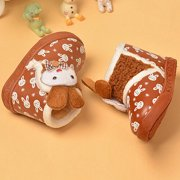 Infant Toddler Baby Girls Boots Boys Kid Winter Thick Snow Boots Fur Shoes