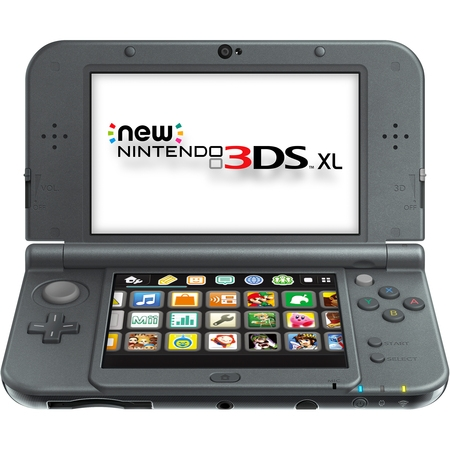 New Nintendo 3ds Xl - Black, 045496781514