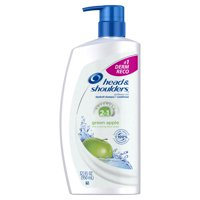 Head and Shoulders Green Apple 2-in-1 Anti-Dandruff Shampoo + Conditioner, 32.1 fl oz