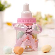 Hilitand 2 Colors 50Pcs Candy Chocolate Bottles Box For Baby Shower Party Favors Gifts Decorations ,